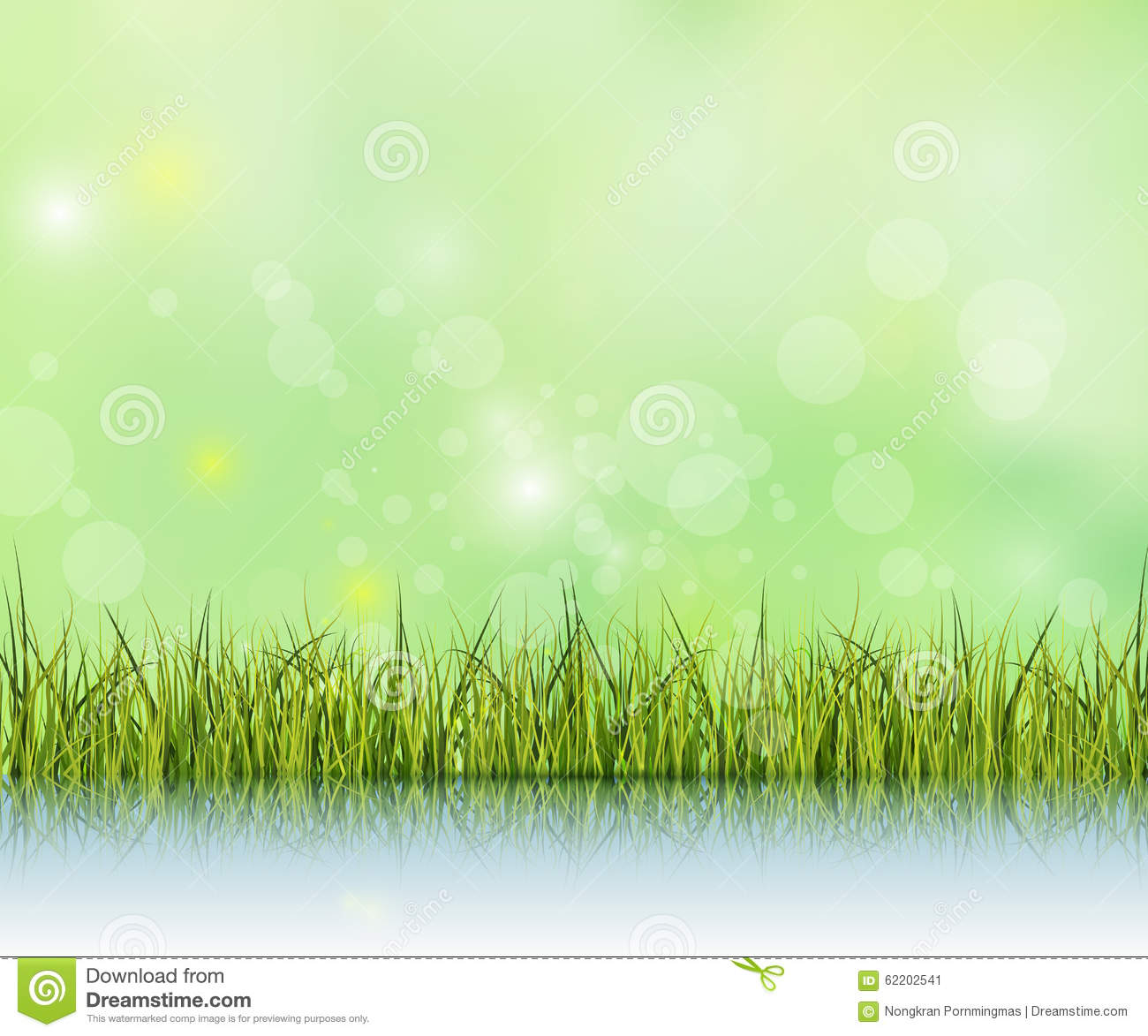 Bokeh light on green pastel color background royalty free for Light green blue color