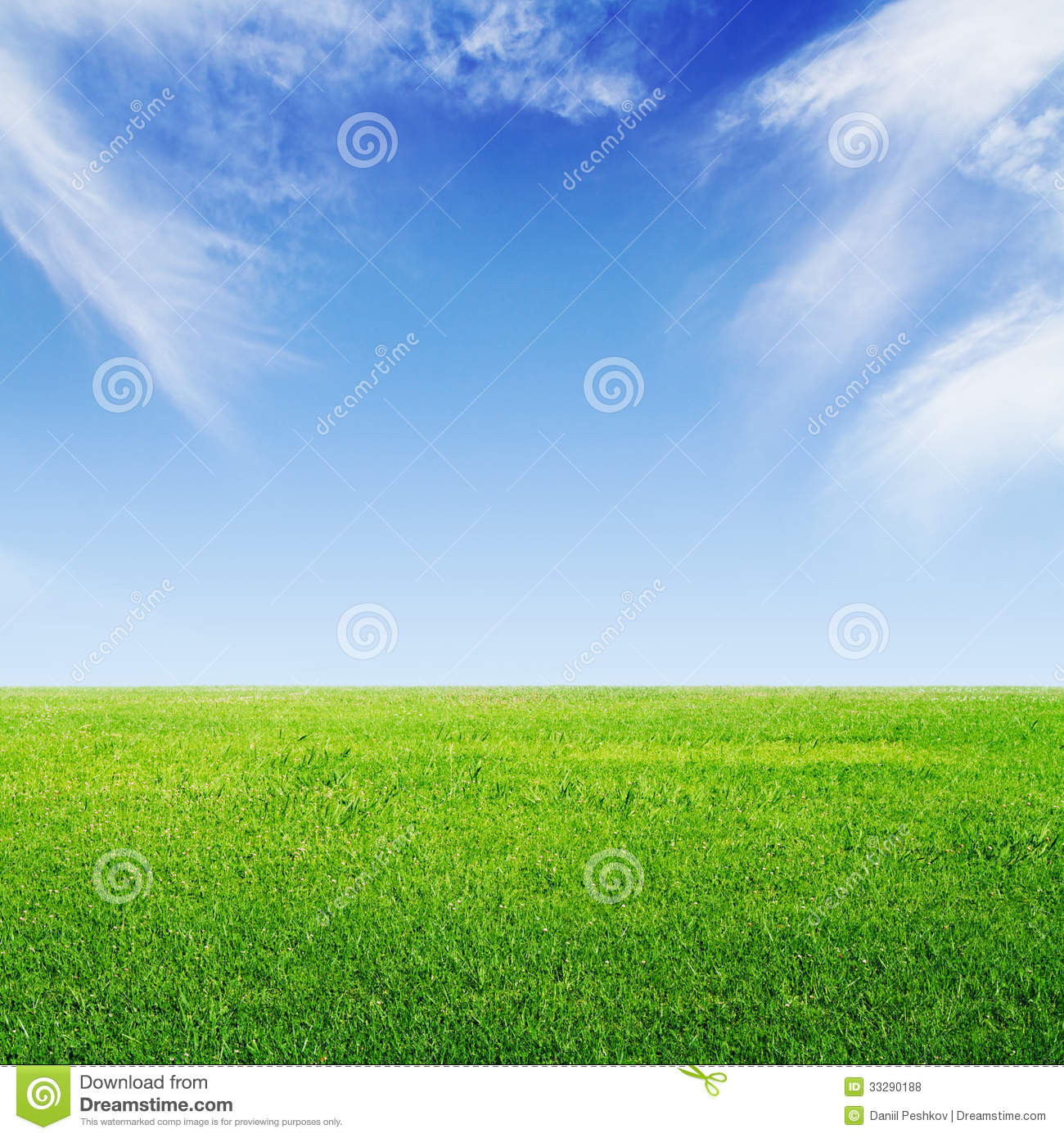 Green Grass And Sky Royalty Free Stock Photos - Image ...