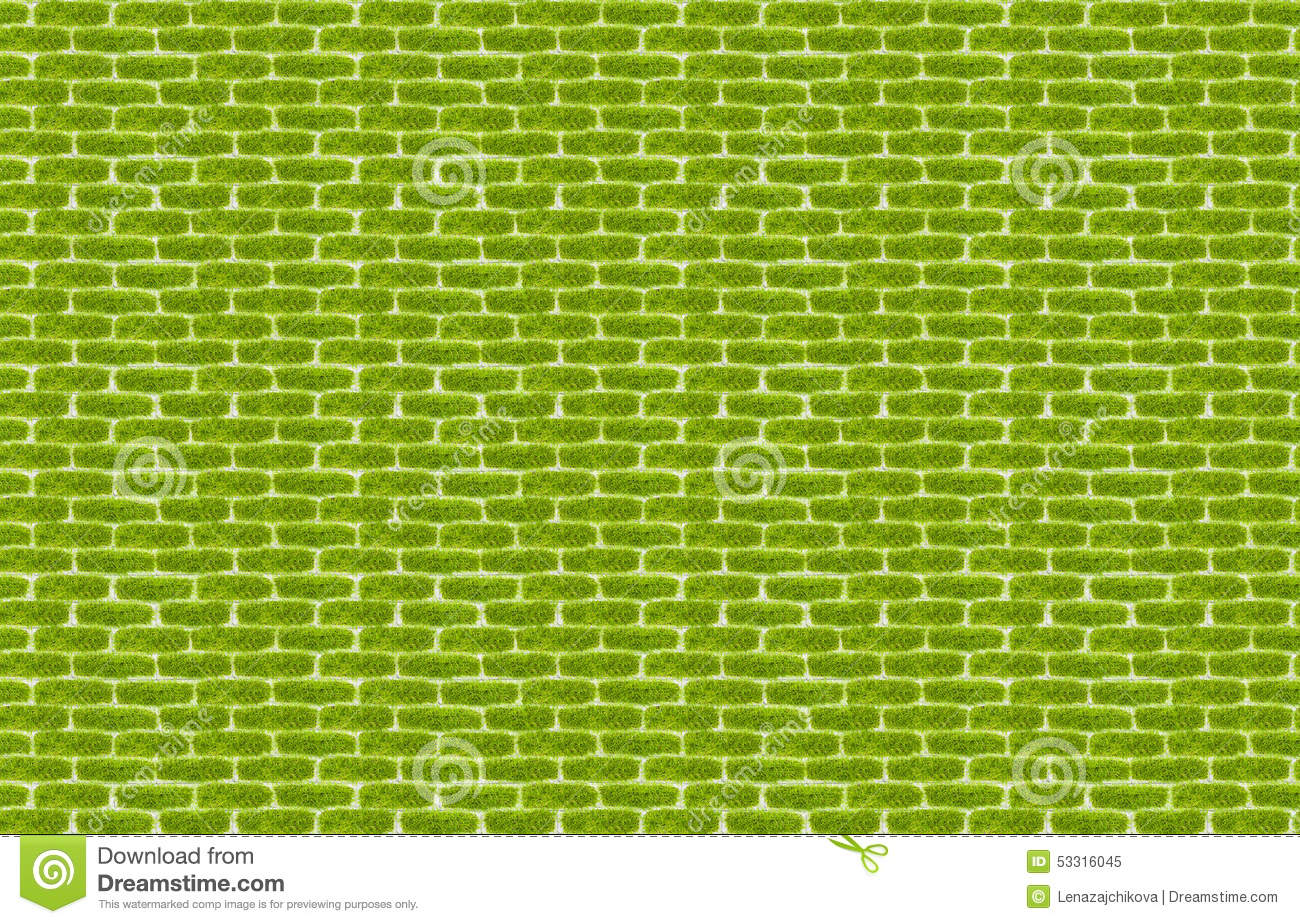 Green grass texture paving stone style seamless stock for Green pavers