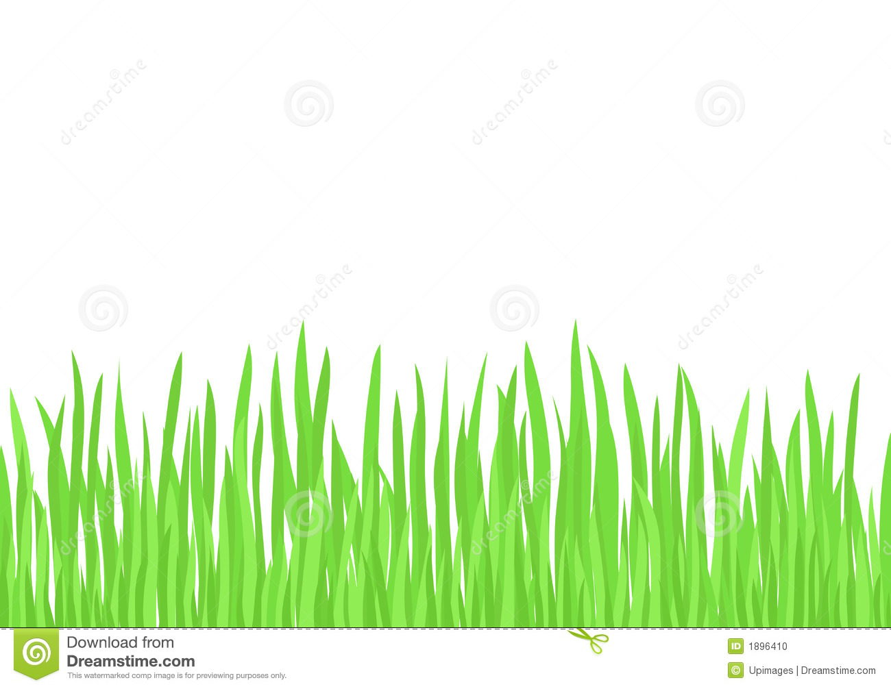 Green Grass Vector Stock Photo Image 1896410