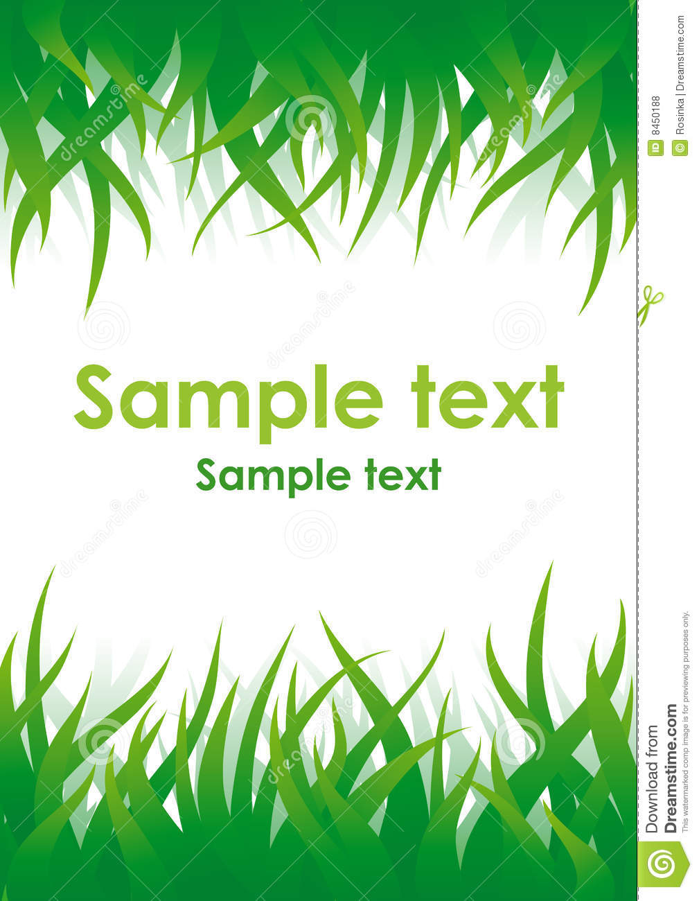 Green Grass Vector Background Royalty Free Stock Photos - Image ...