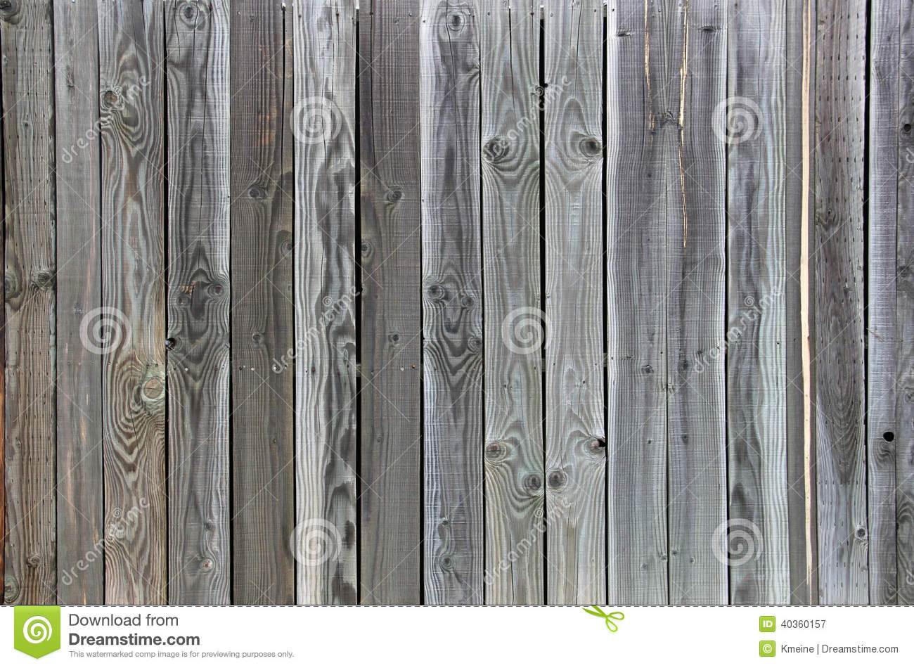 Green Grey Tinted Wood fence background unique grain