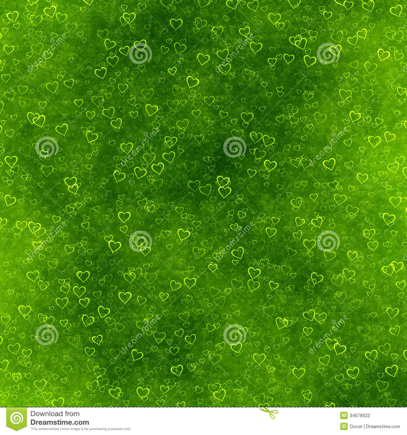green hearts background - photo #20