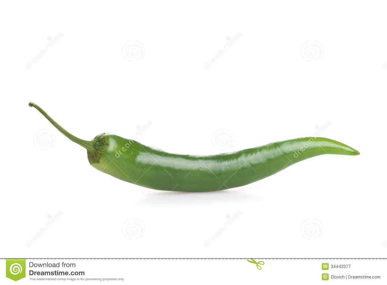 Green Hot Chili Pepper Royalty Free Stock Photography ...