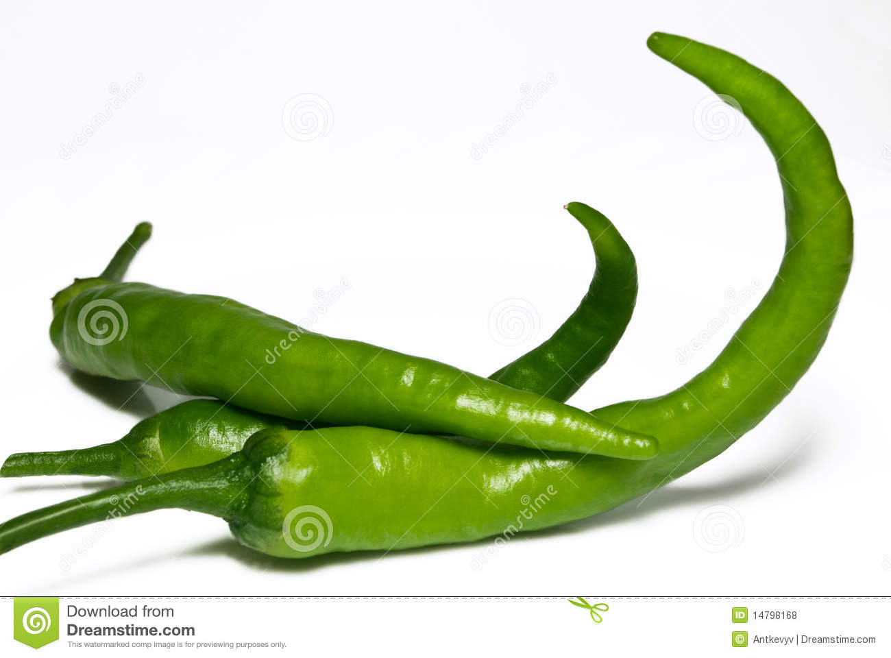 Green Hot Chili Peppers Royalty Free Stock Photos - Image ...