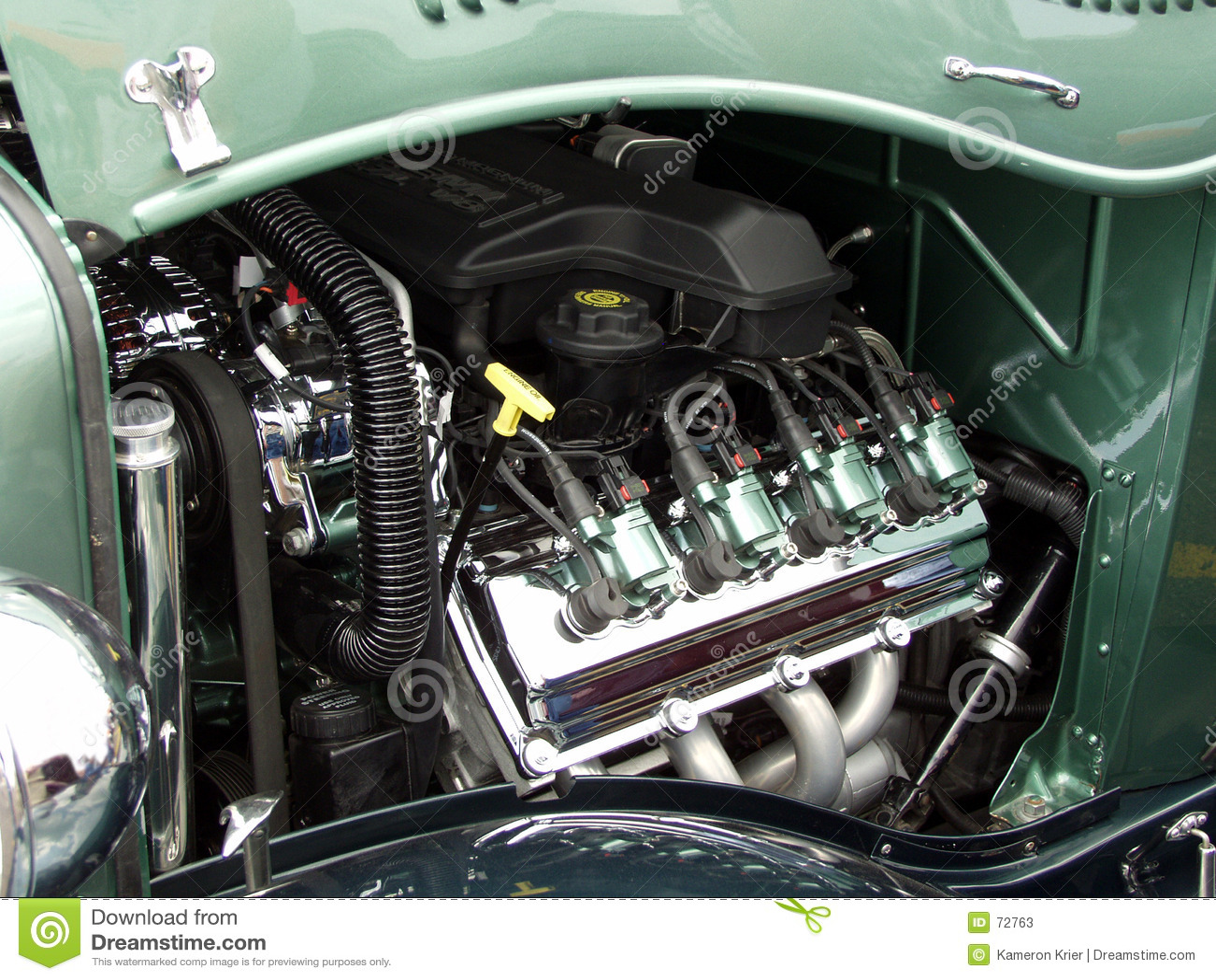 How To Polish Chrome On A Car Engine Parts