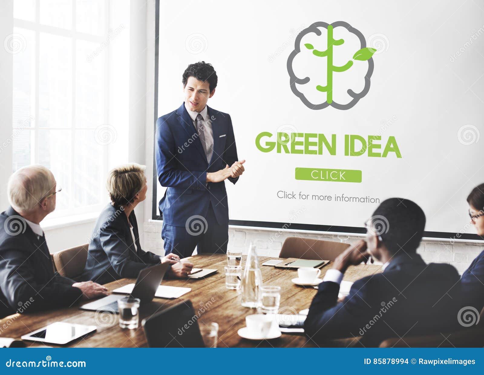 Green Idea Conservation Conservation Nature Concept