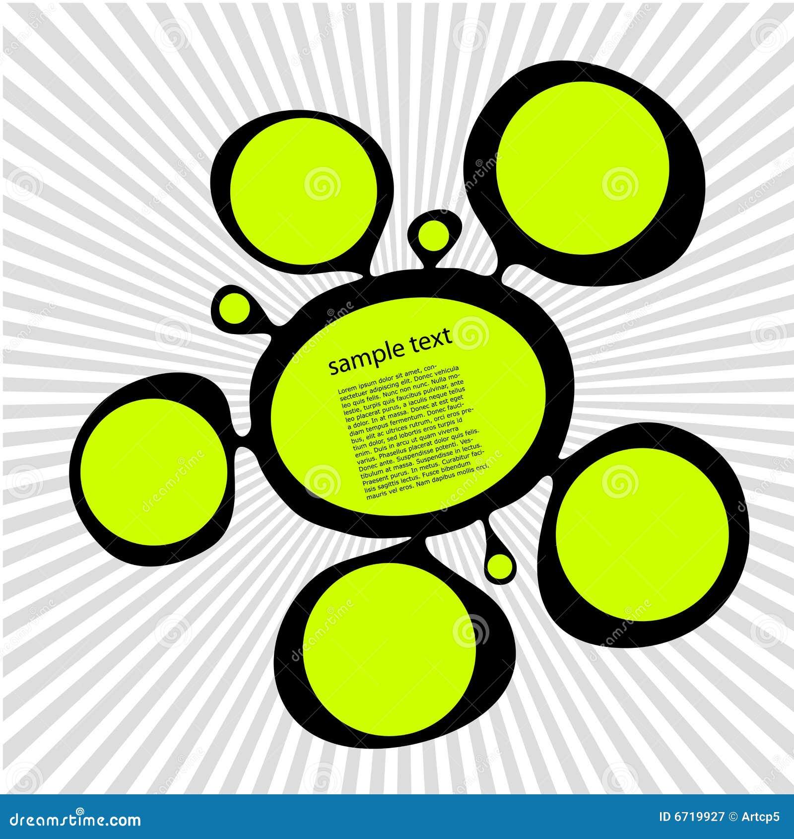 Green ink spot