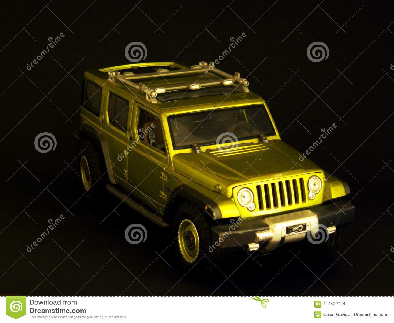 Green Jeep Toy Stock Photo Image Of Green Jeep Studio 114432744