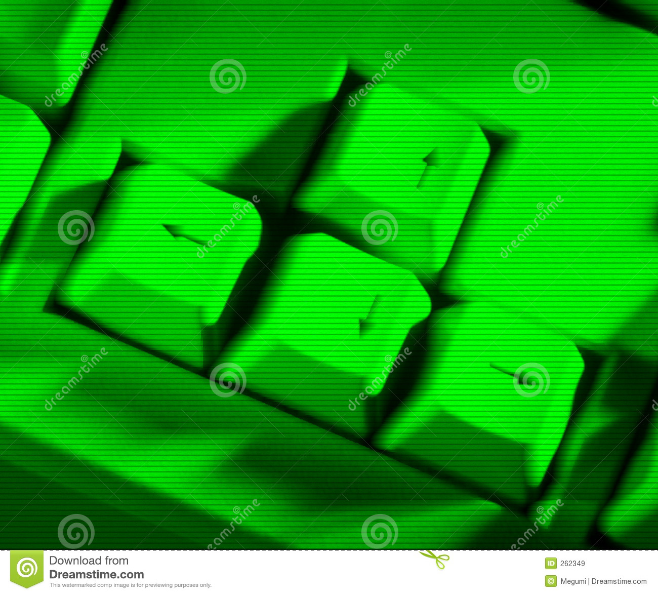 Green Keyboard Stock Image Image Of Screen Computer Keyboard 262349