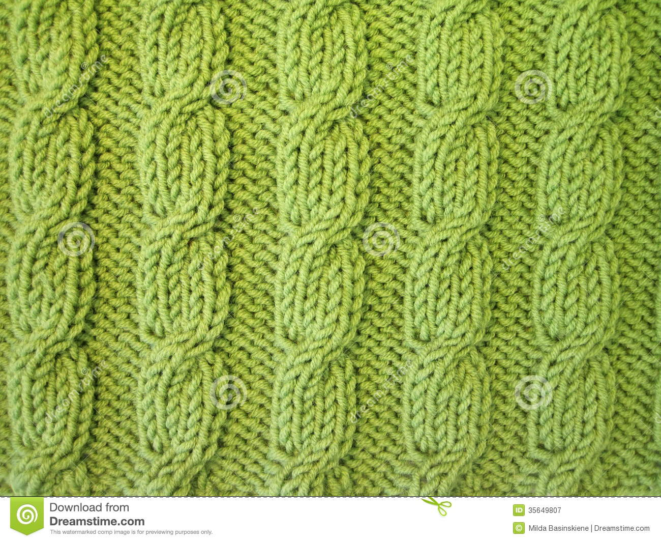 Knitting Wallpaper Free : Green knitting stock image of natural