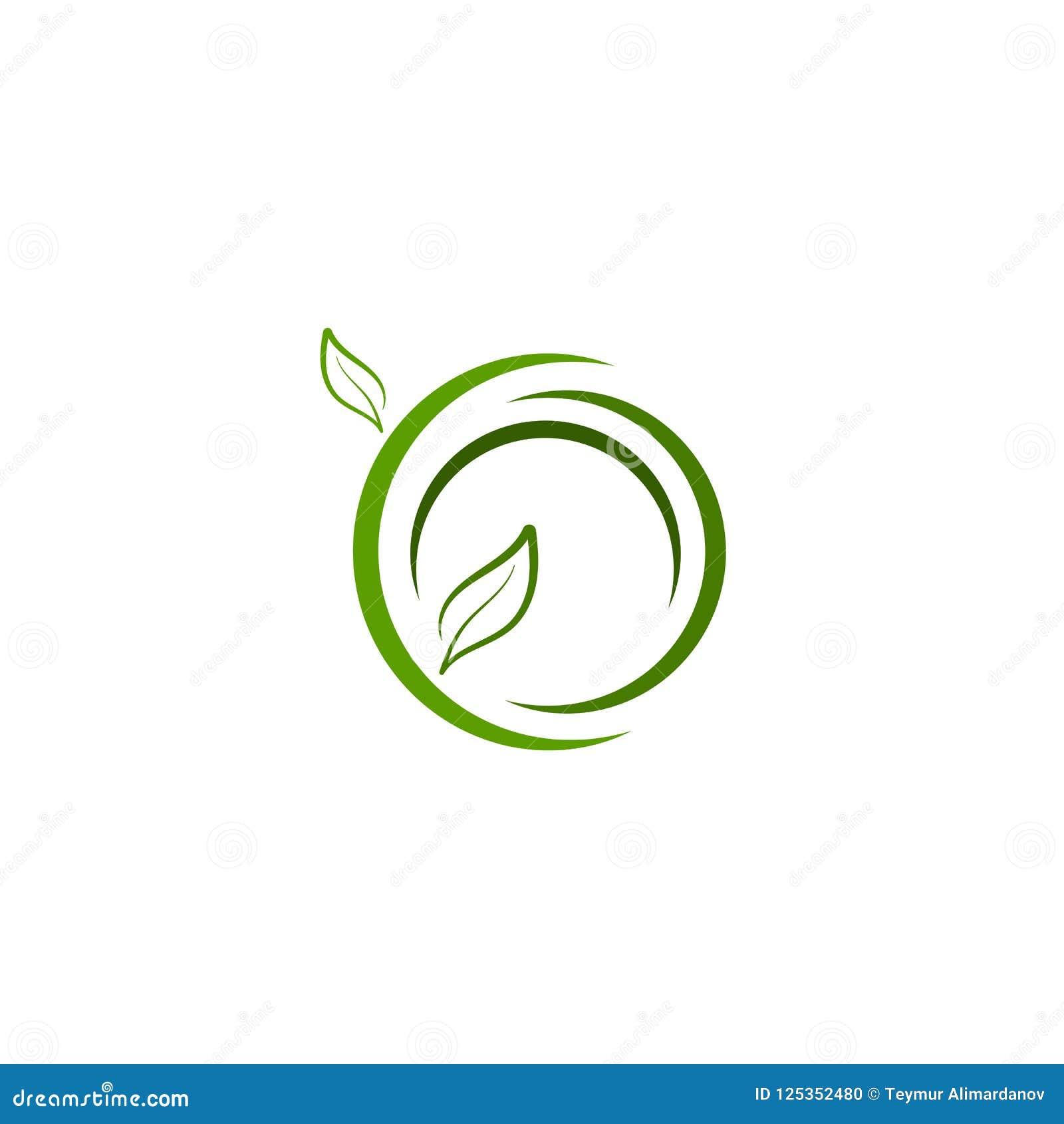 Green Leaf Logo, Icon Vector Design Element, Bio, Eco Concept ...