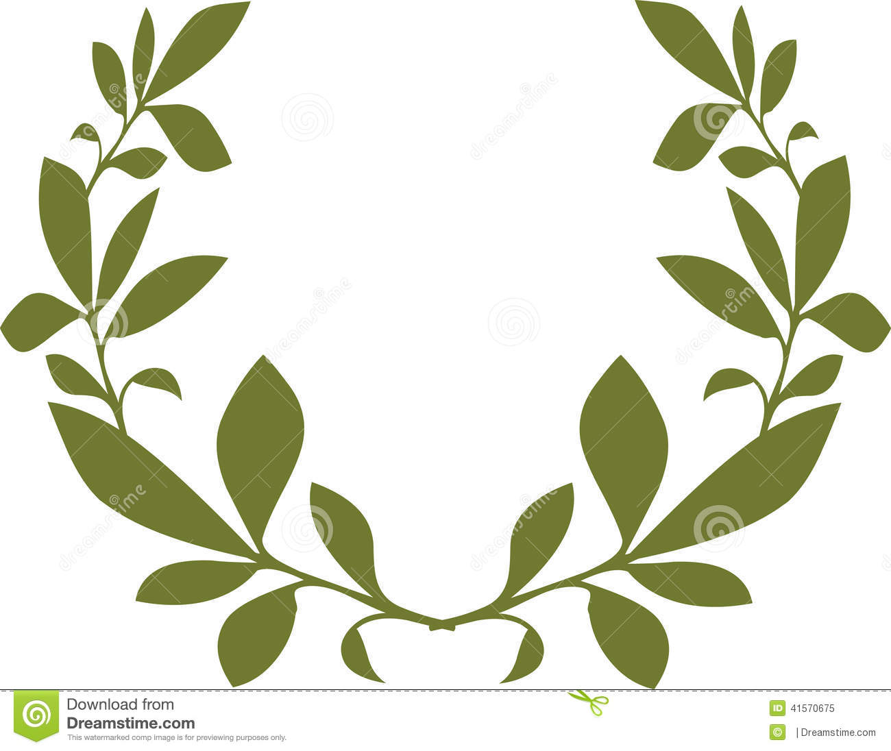 Green Leaf Template Vector Design Stock Vector Image
