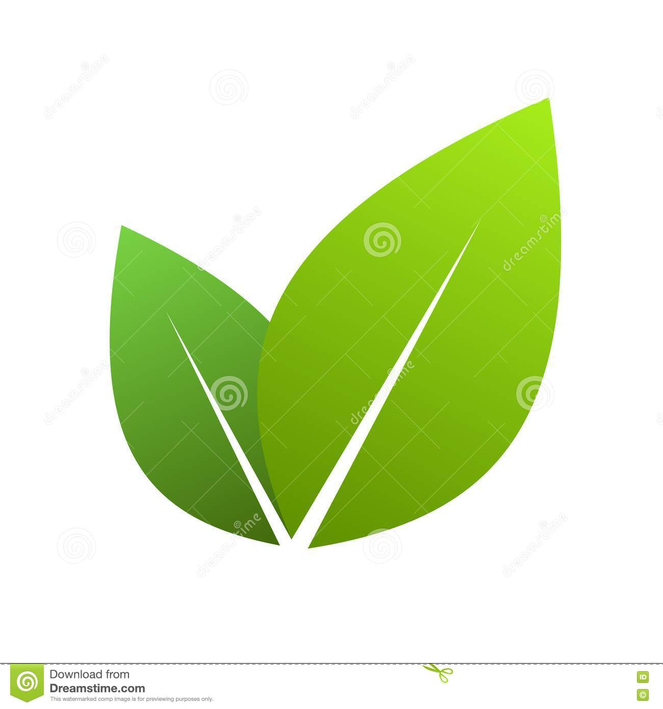 Single Green Leaf Clip Art | www.pixshark.com - Images ...