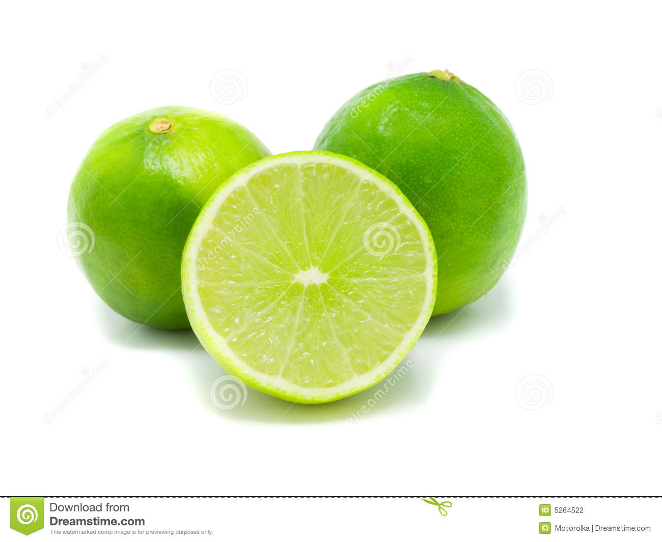 Green Lemon Stock Photography - Image: 5264522