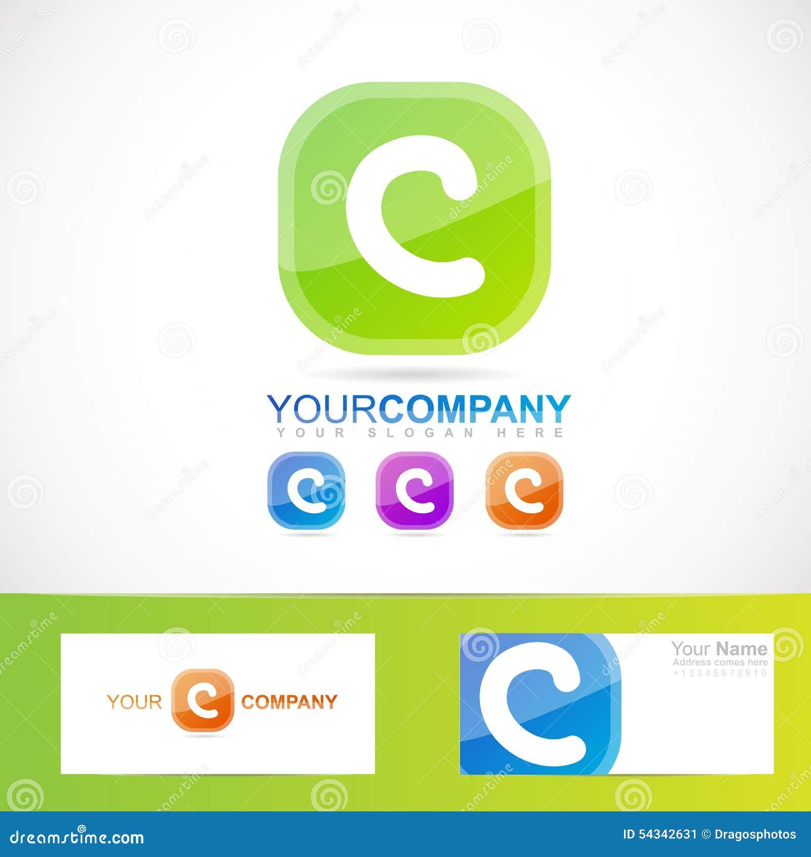 Green Letter C Logo Stock Vector - Image: 54342631