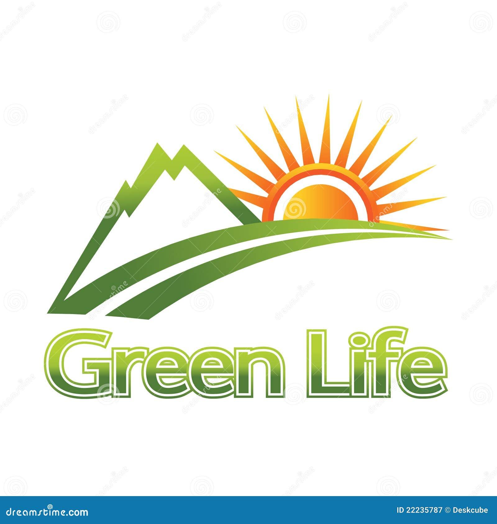 Green Life Logo...