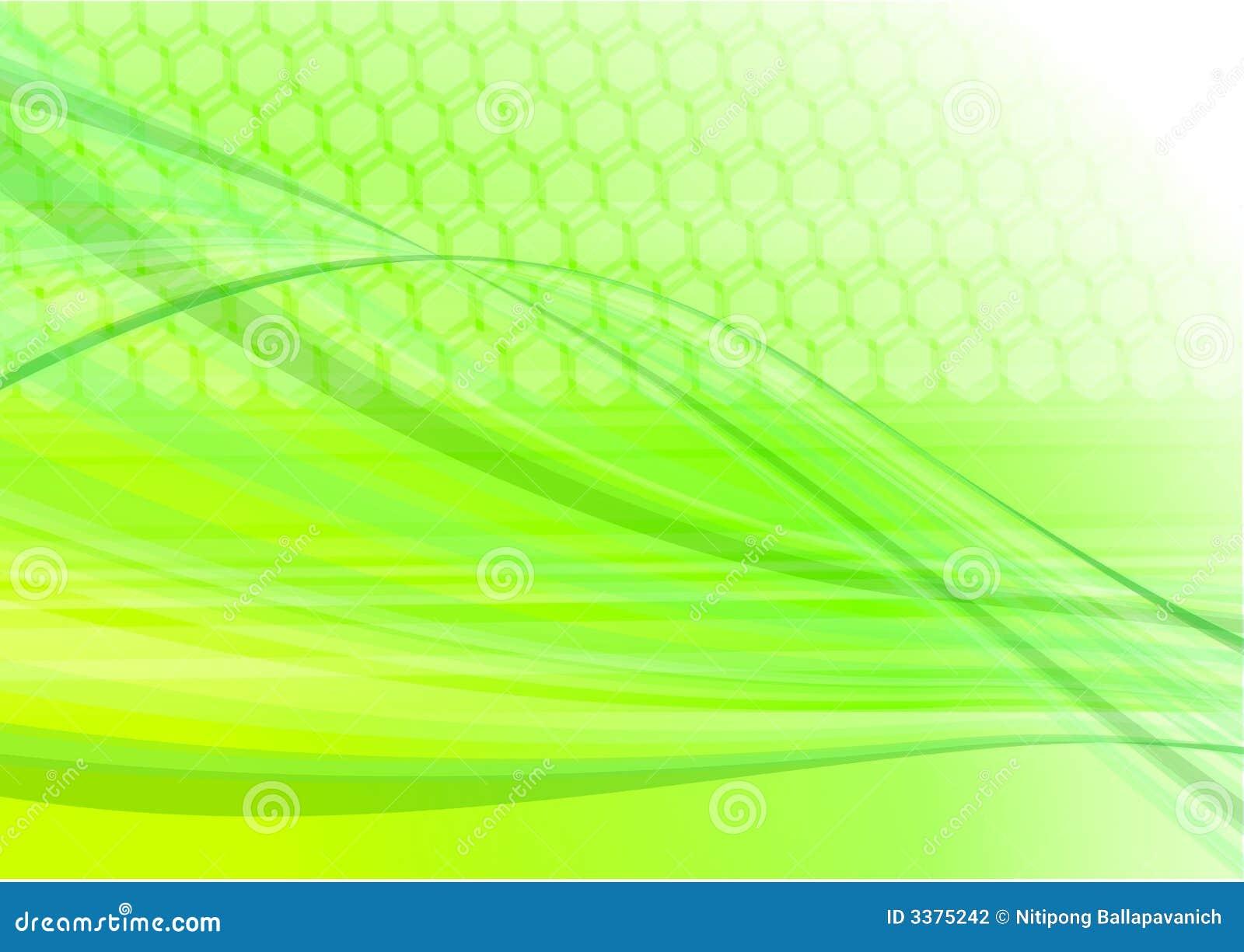 Green light abstract digital