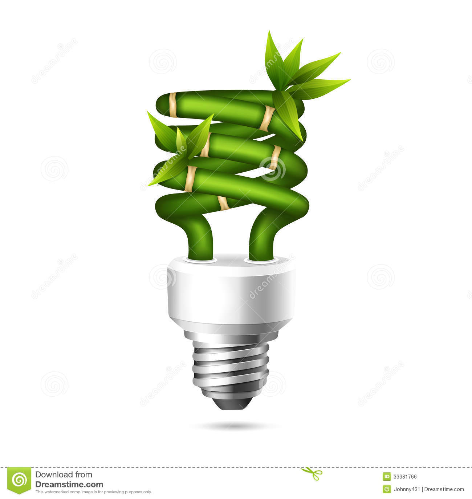 Green Light Bulb Royalty Free Stock Image Image 33381766