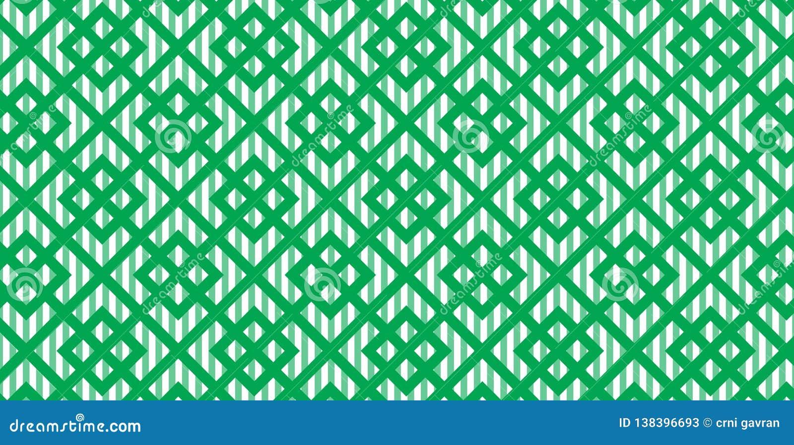 Green Line Background  Vector Illustration For Elegant Design