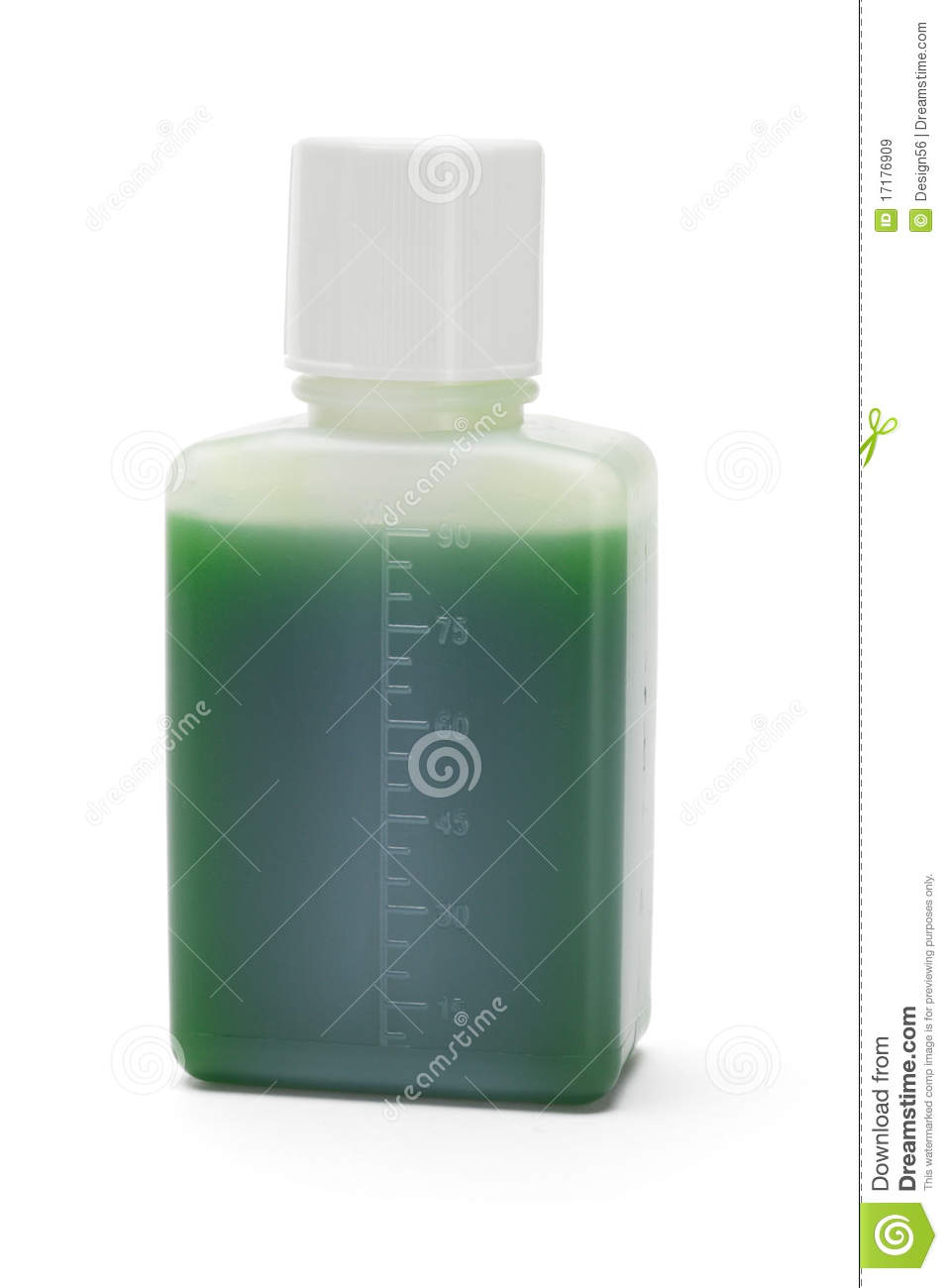 green liquid medicine stock image  image of object  blank