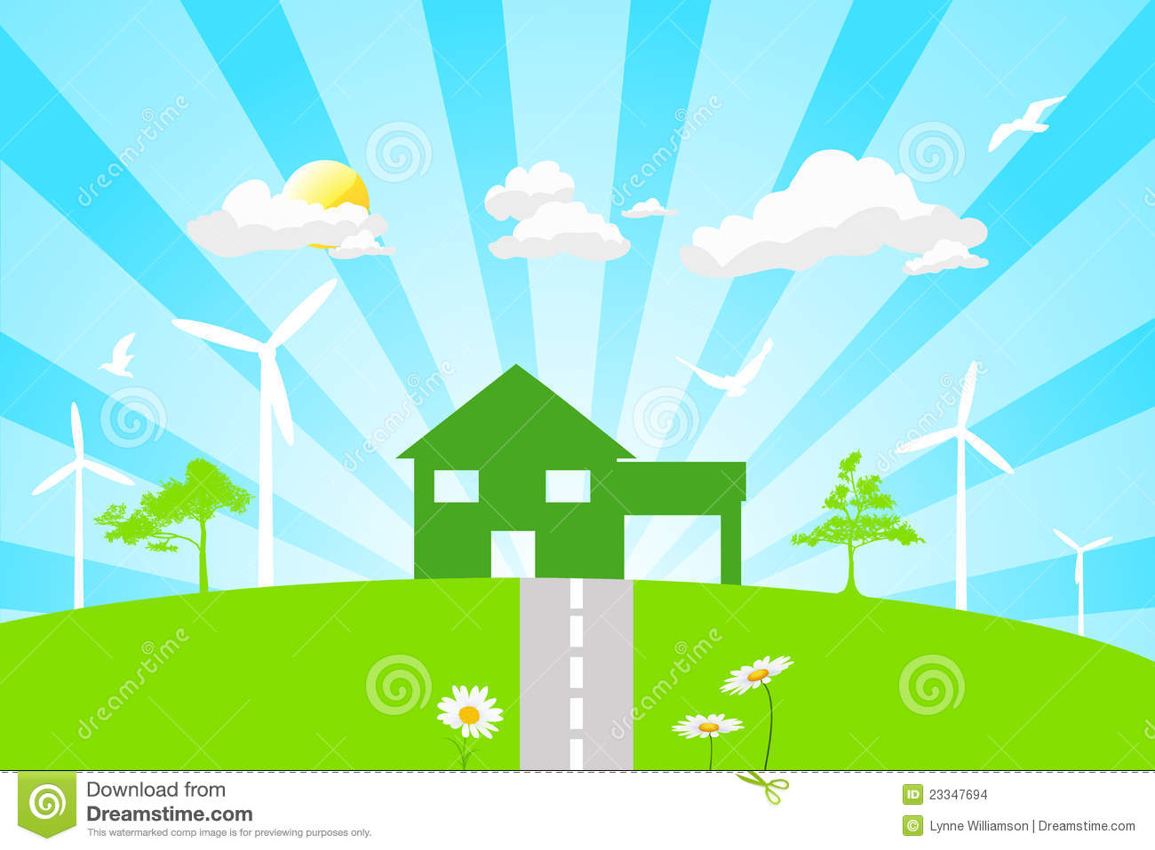 Green Living Stock Images Image 23347694