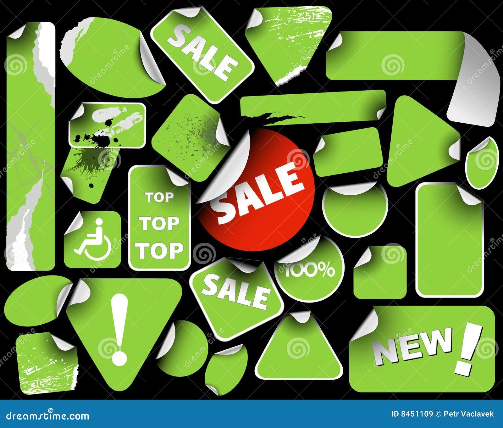 Green märker försäljningsseten