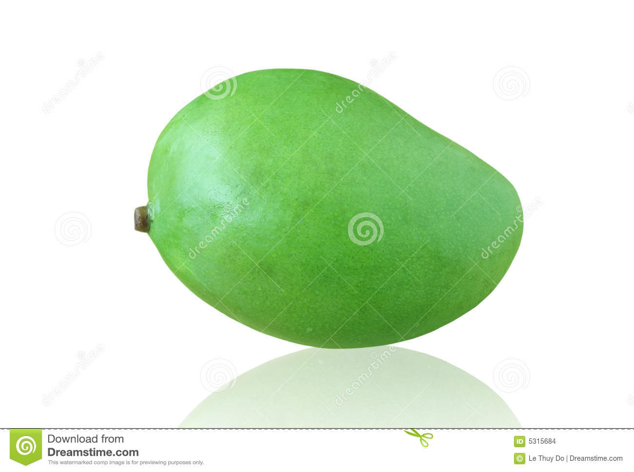Green Mango Stock Images - Image: 5315684