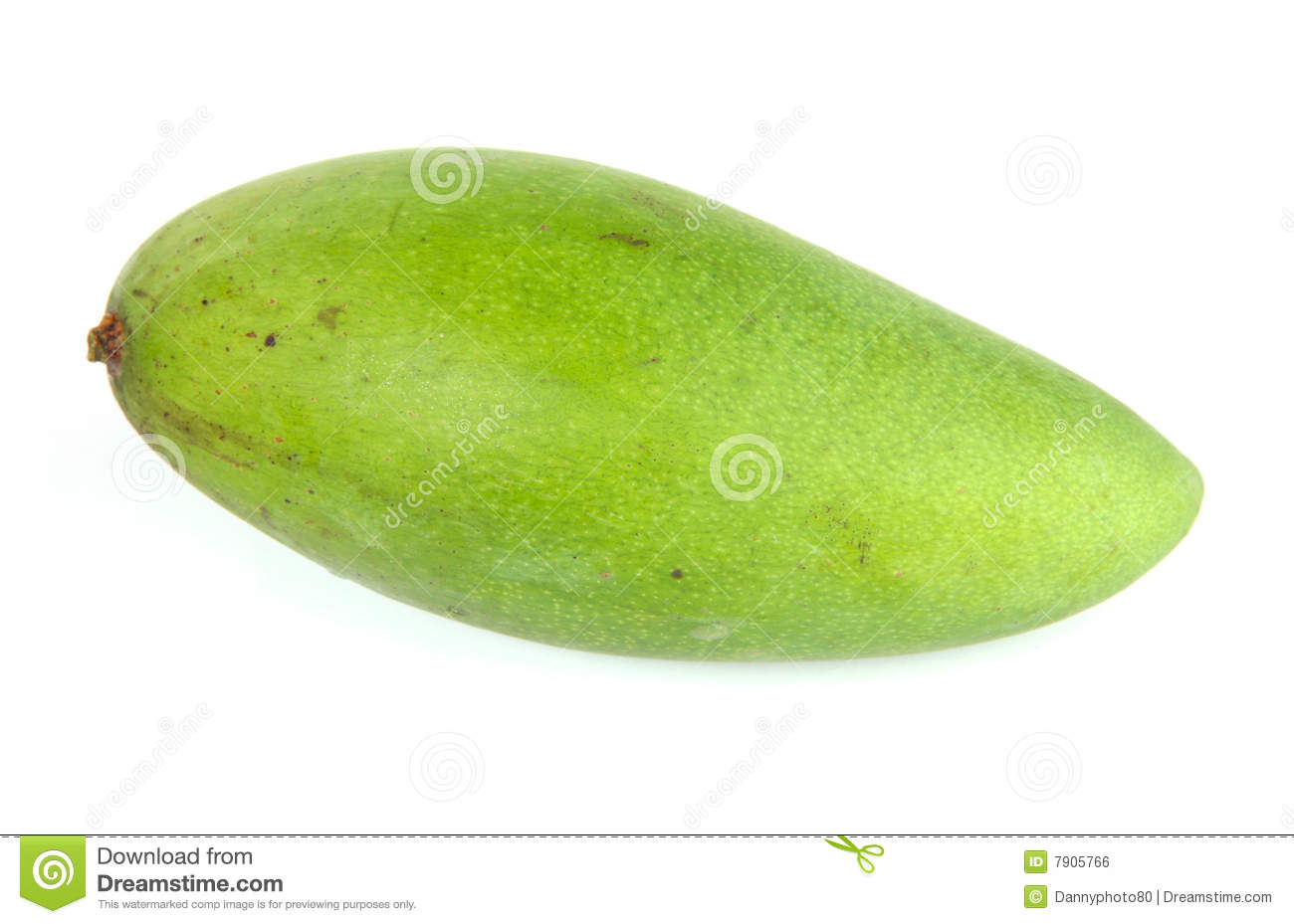 Green Mango Royalty Free Stock Image - Image: 7905766