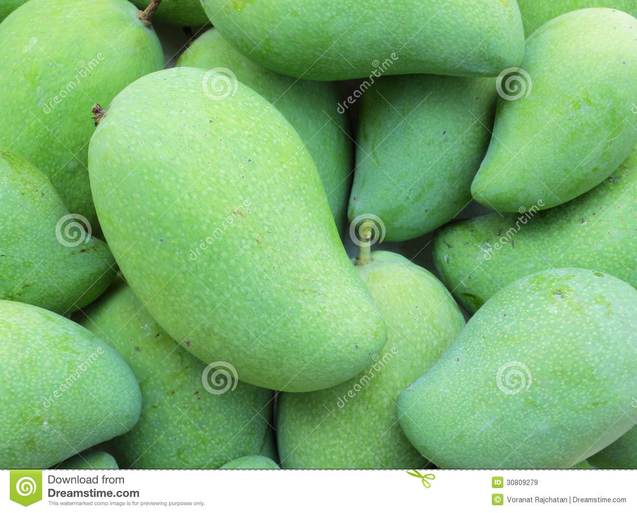 Green Mango Fruit Royalty Free Stock Images - Image: 30809279