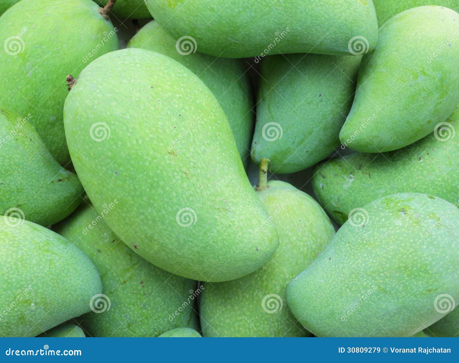 Green Mango Fruit Royalty Free Stock Images - Image: 30809279