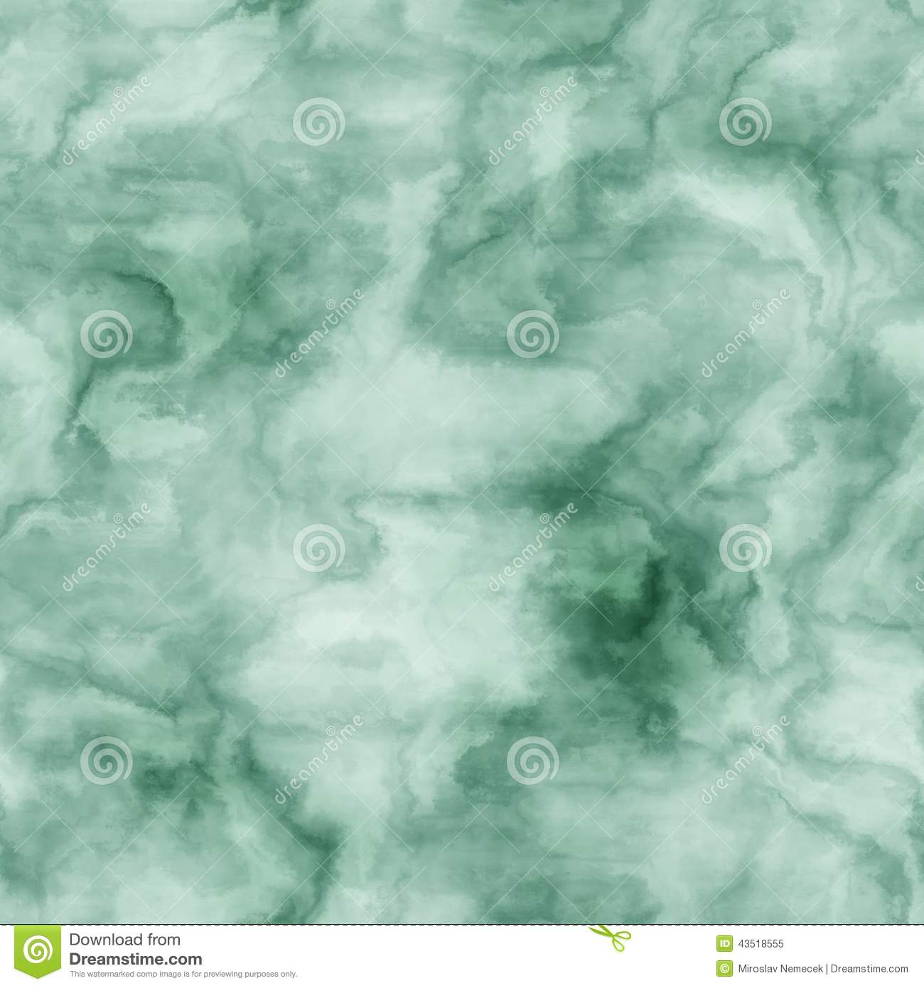 Green Marble Seamless Generated Hires Texture Stock