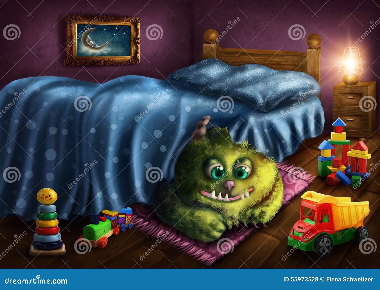 Green Monster Stock Illustration Image 55973528