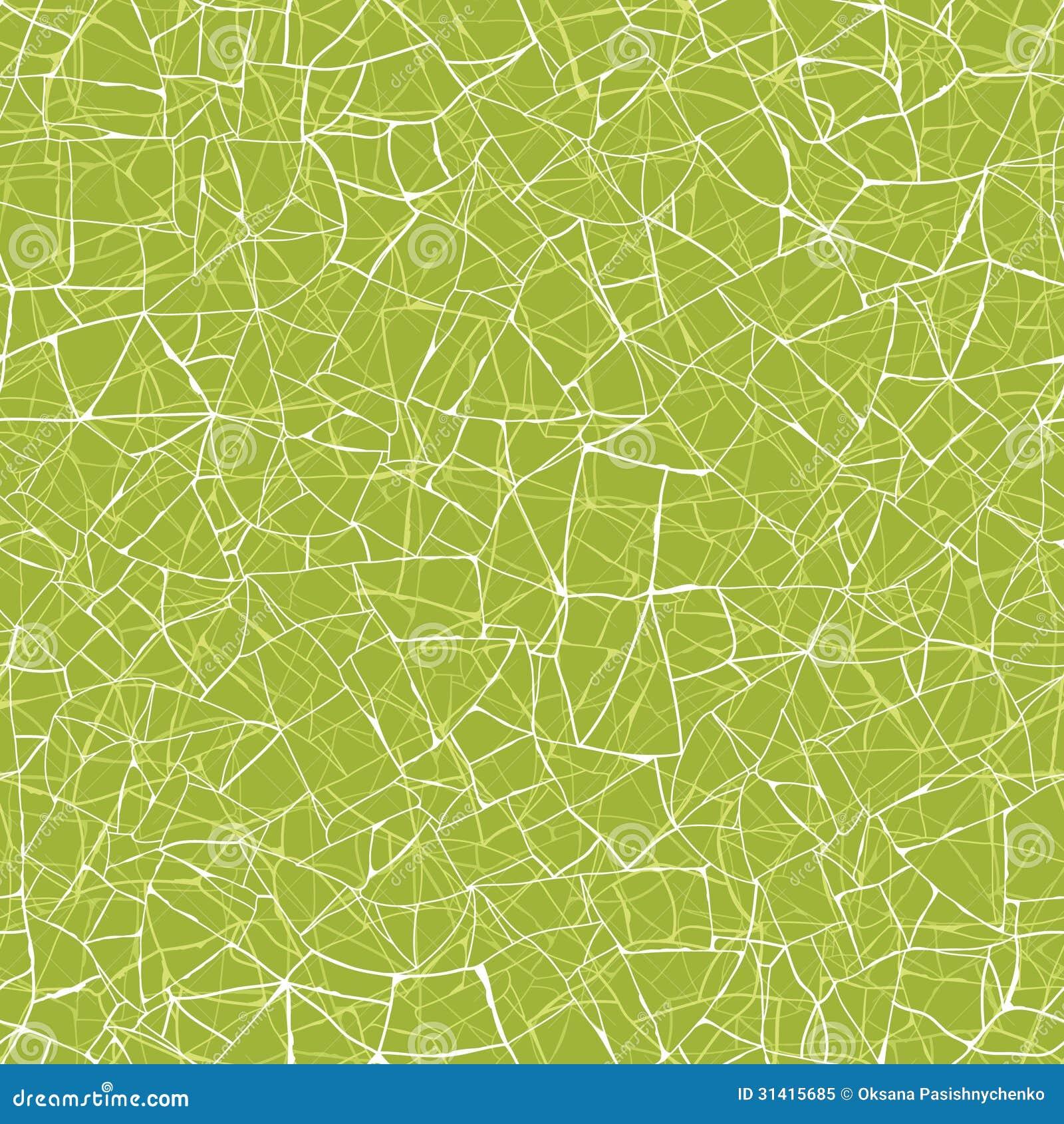 Line Art Background : Green mosaic texture seamless pattern background stock