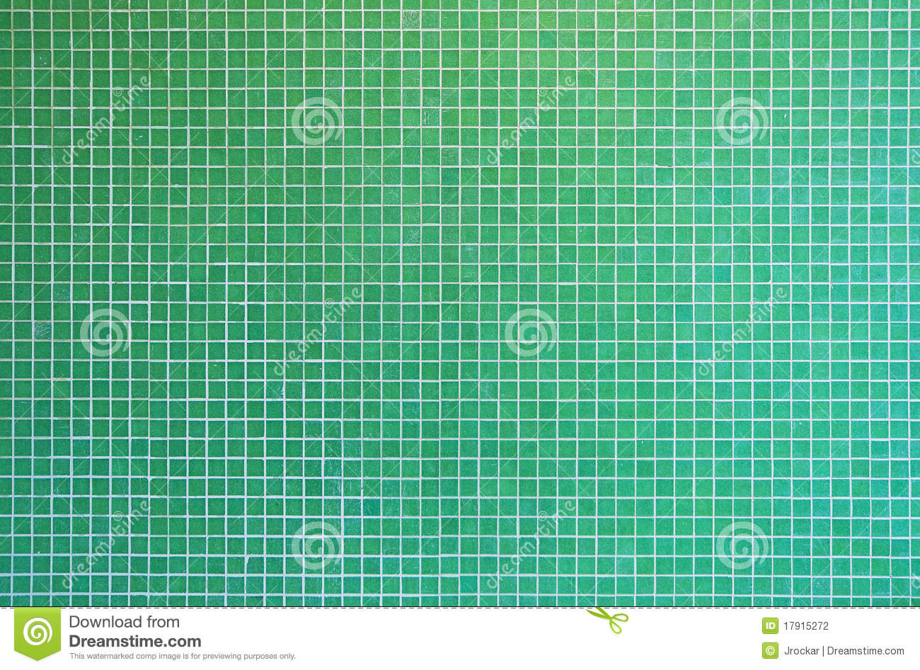 Download Green mosaic tile texture stock photo. Image of modern - 17915272