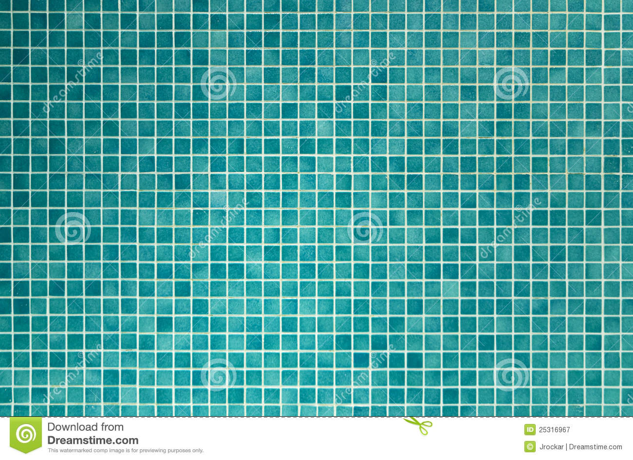 Green Mosaic Tiles For Bathroom And Kitchen Royalty Free ...