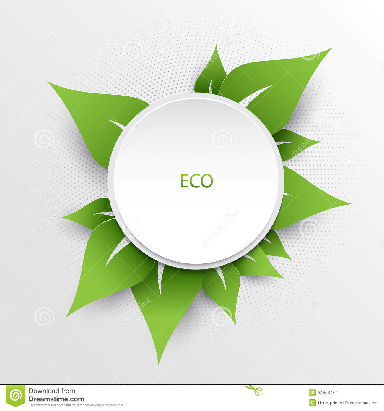 Green Nature Eco Background Royalty Free Stock Photography