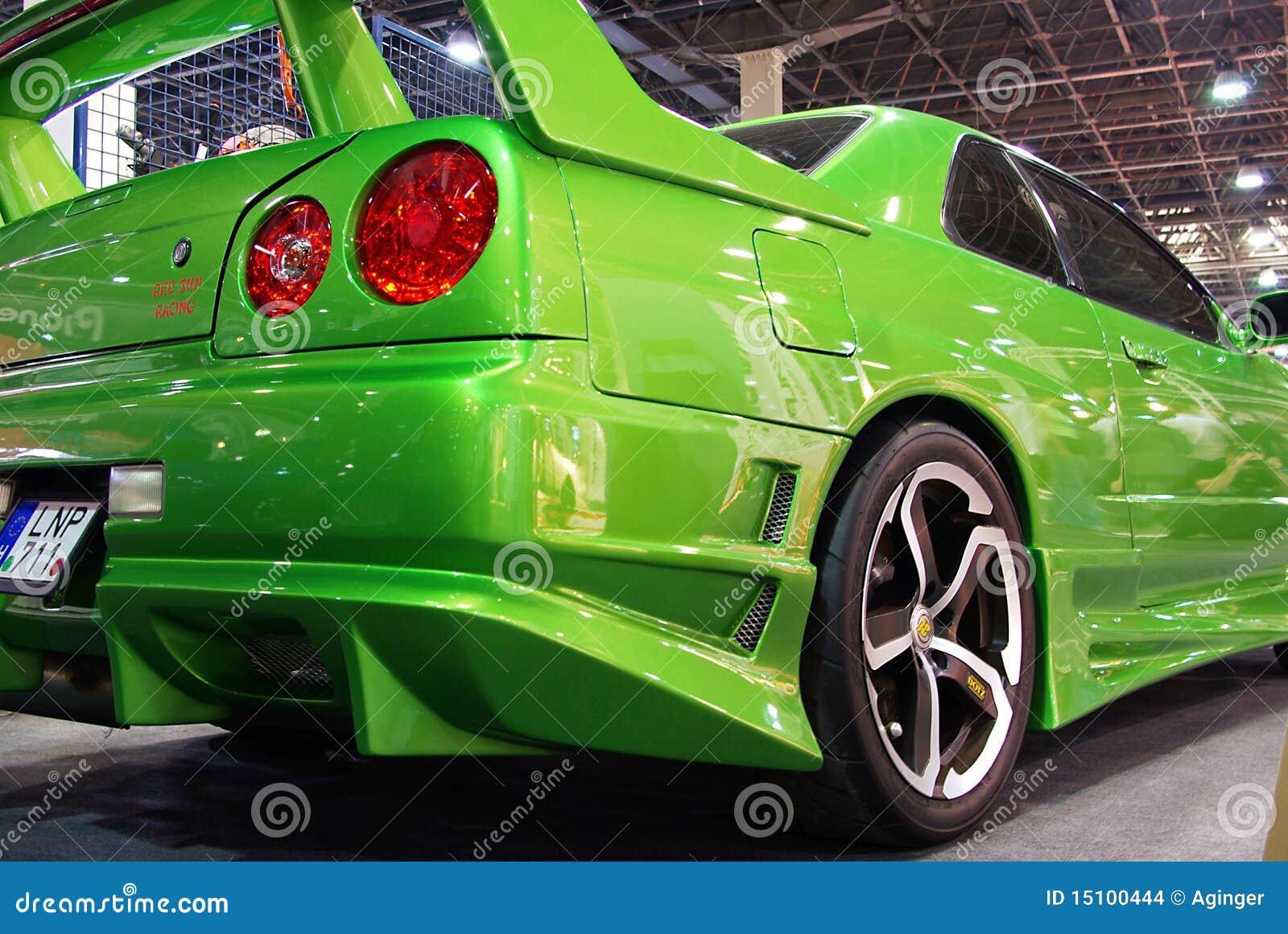 green nissan skyline editorial stock image image of carshow 15100444 rh dreamstime com Dealer Nissan Skyline GTR R34 GTR Black Nissan Skyline GTR R34 Wallpaper
