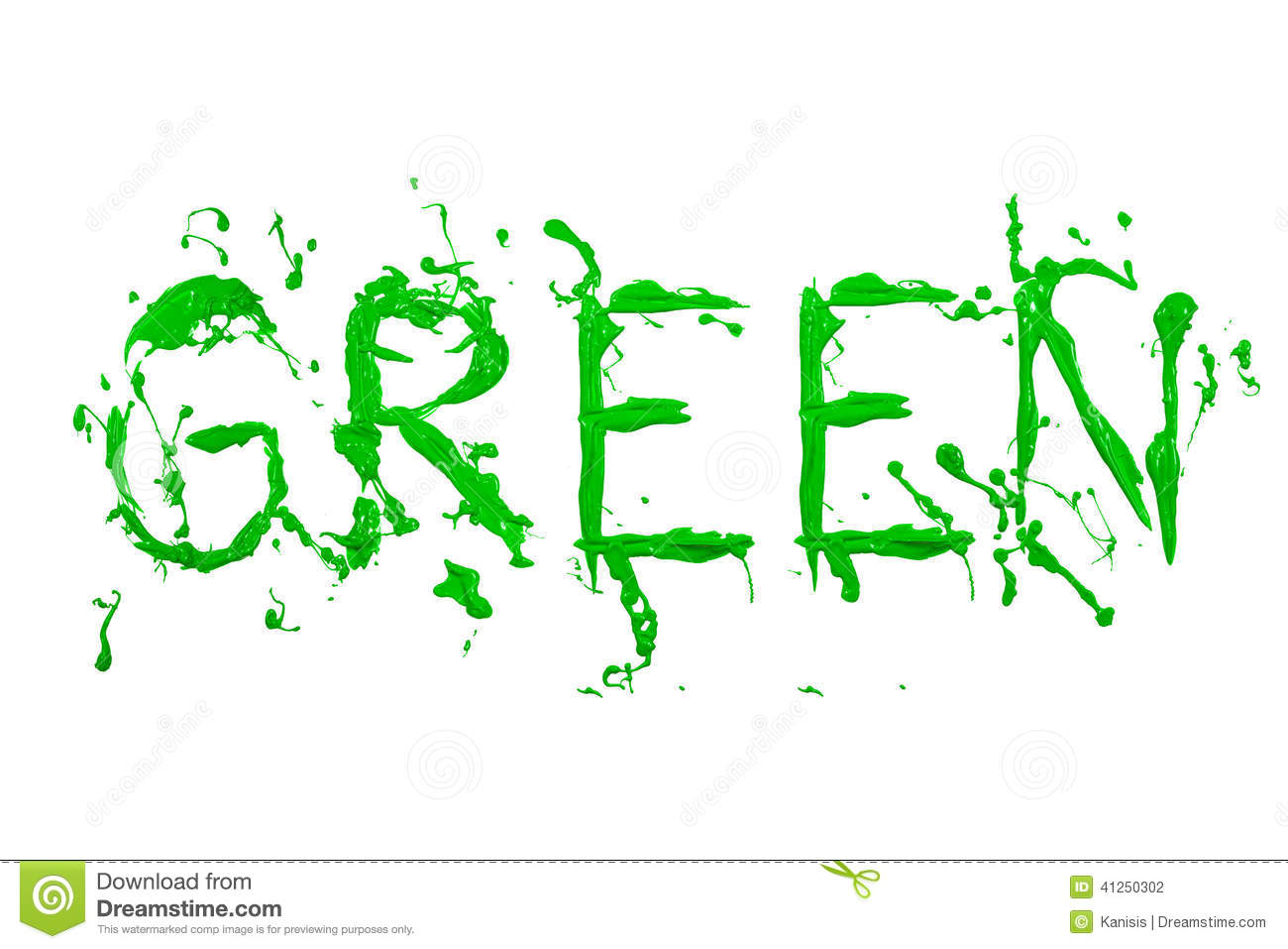 green paint painted word green stock illustration image paintbrush clip art with checkered background paintbrush clip art black and white free
