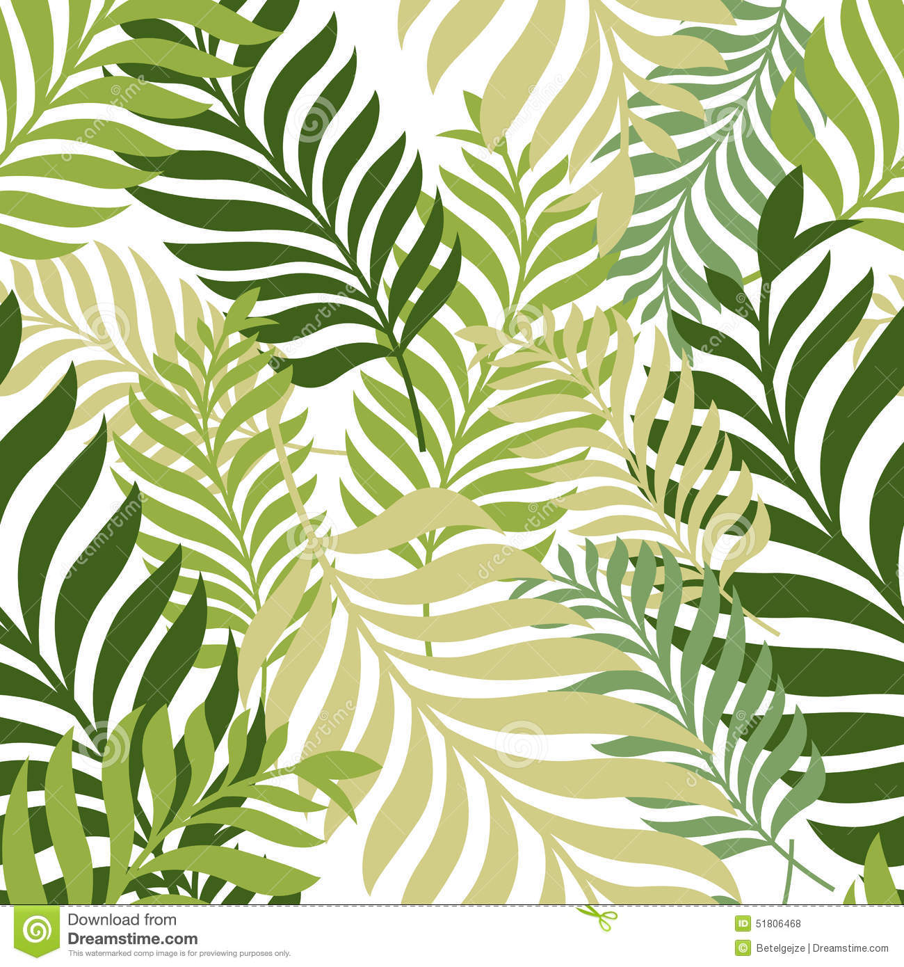 leaves and trees pattern