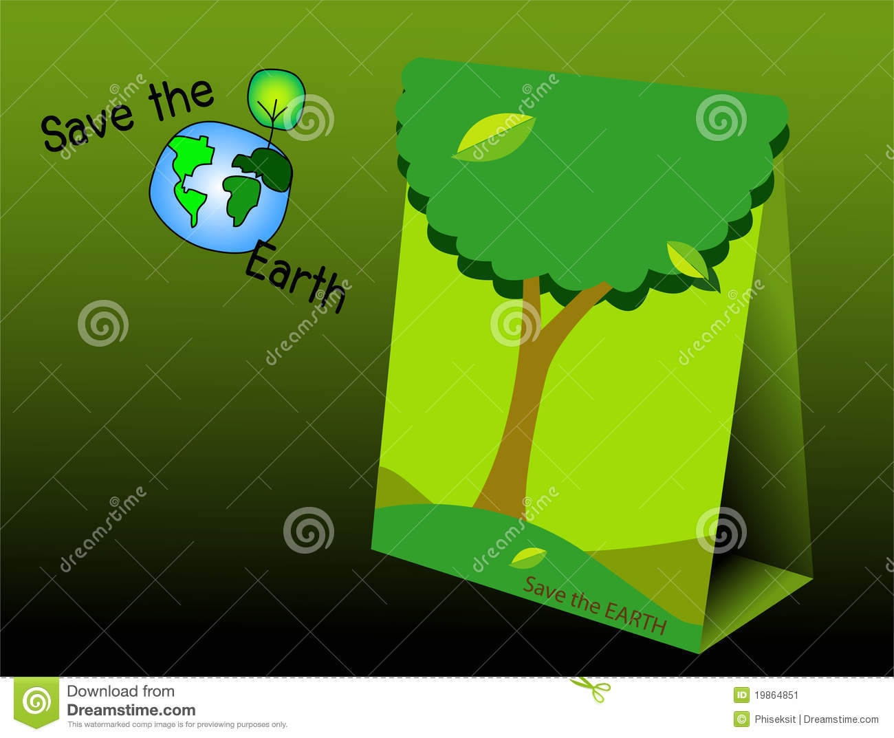 Essay on green earth
