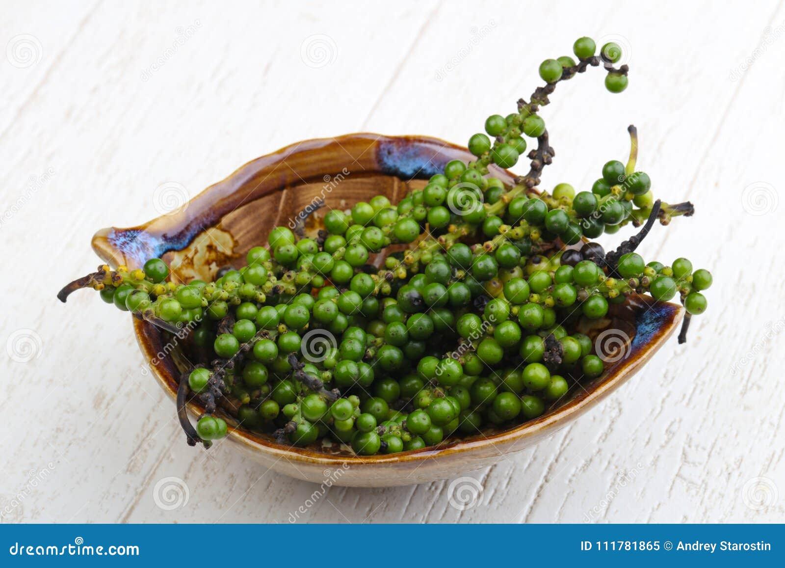 Green pepper corn