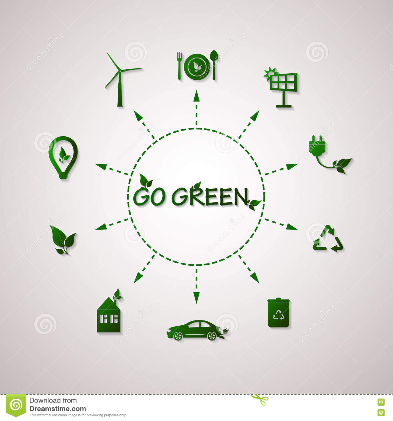 green planet vector info graphic illustration ecology flat design