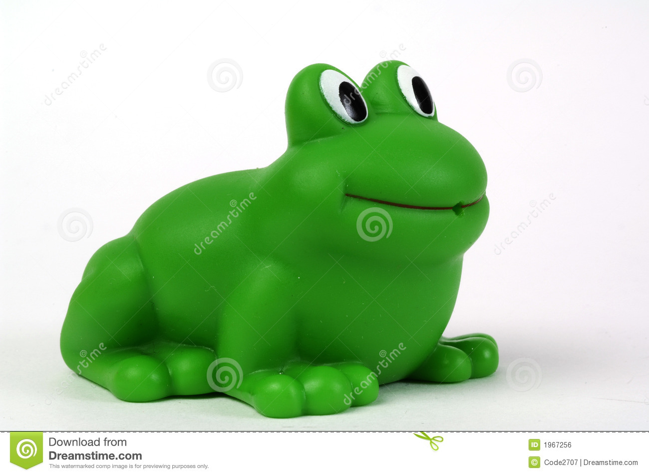 Green Plastic Frog Royalty Free Stock Image Image 1967256