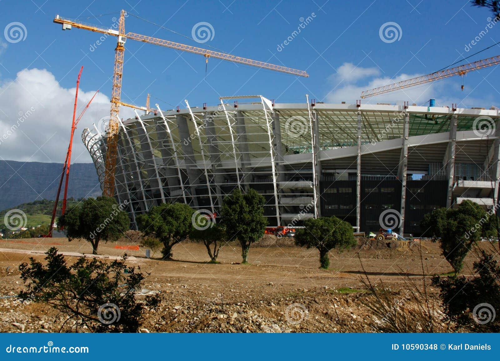Green Point Stadium Construction
