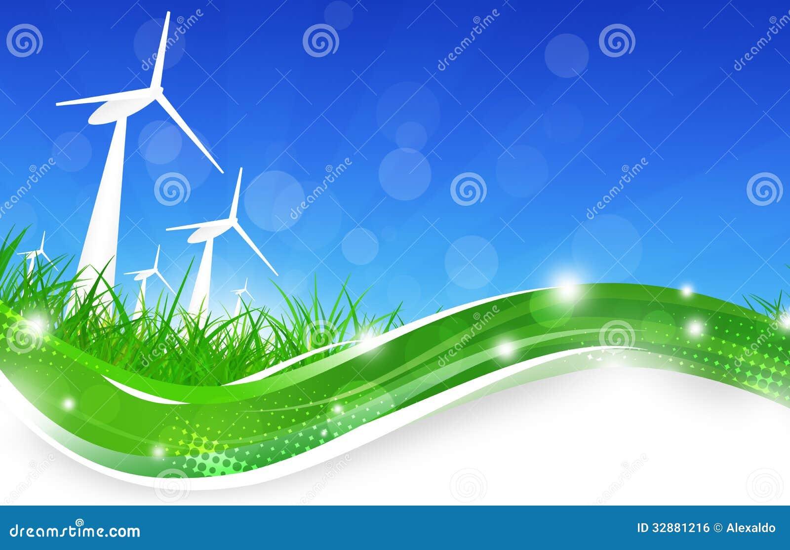 is wind power green Modern windmill turbine, wind power, green energy photo about rotate, wisconsinart, pollutant, health, modern, environmentally, clean, blade, renewable, power, blades - 16516892.