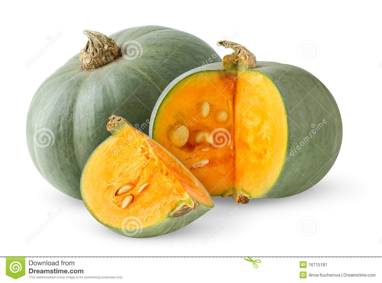 Green Pumpkin Stock Image - Image: 16715181