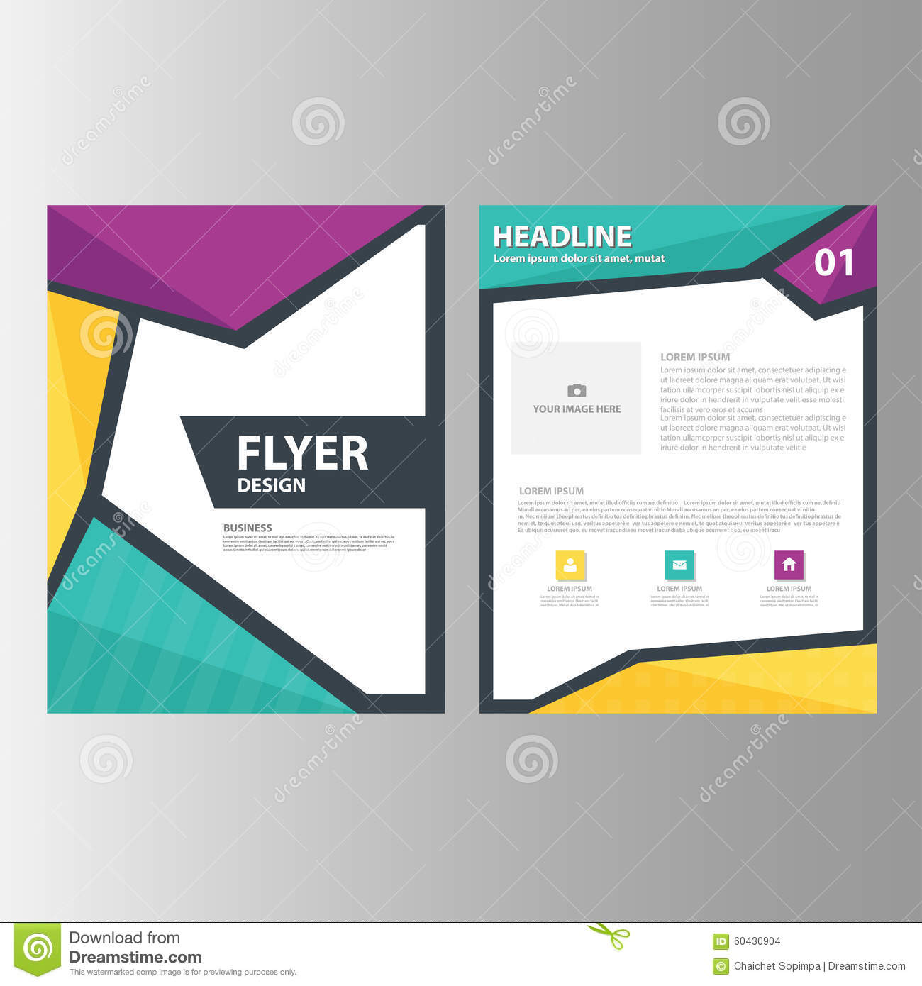 how to make advertisement brochure
