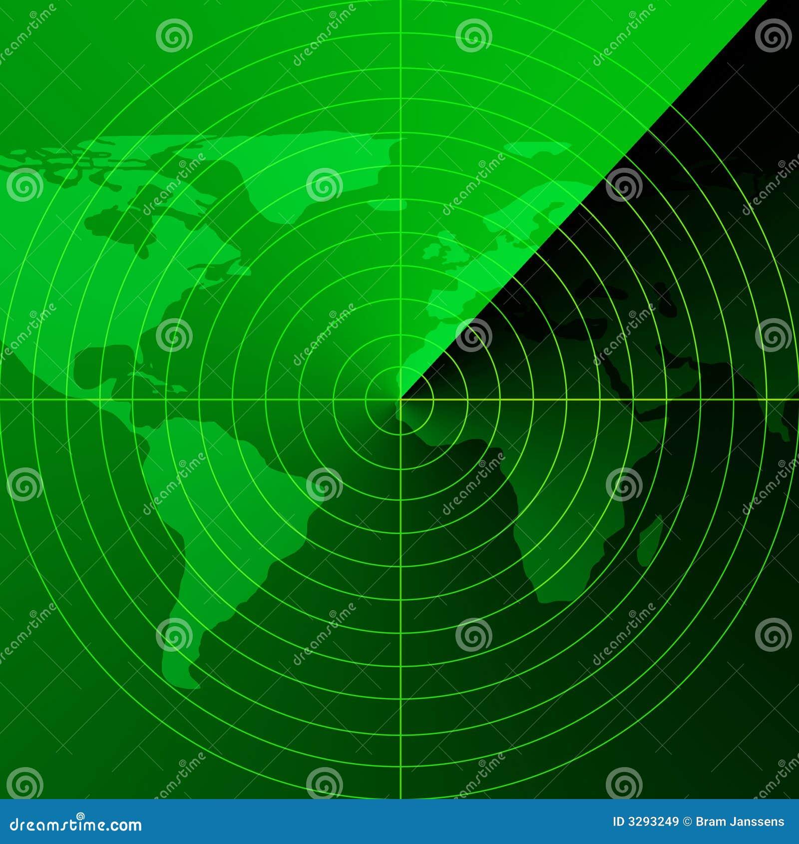 Green Radar Screen Royalty Free Stock Images Image 3293249
