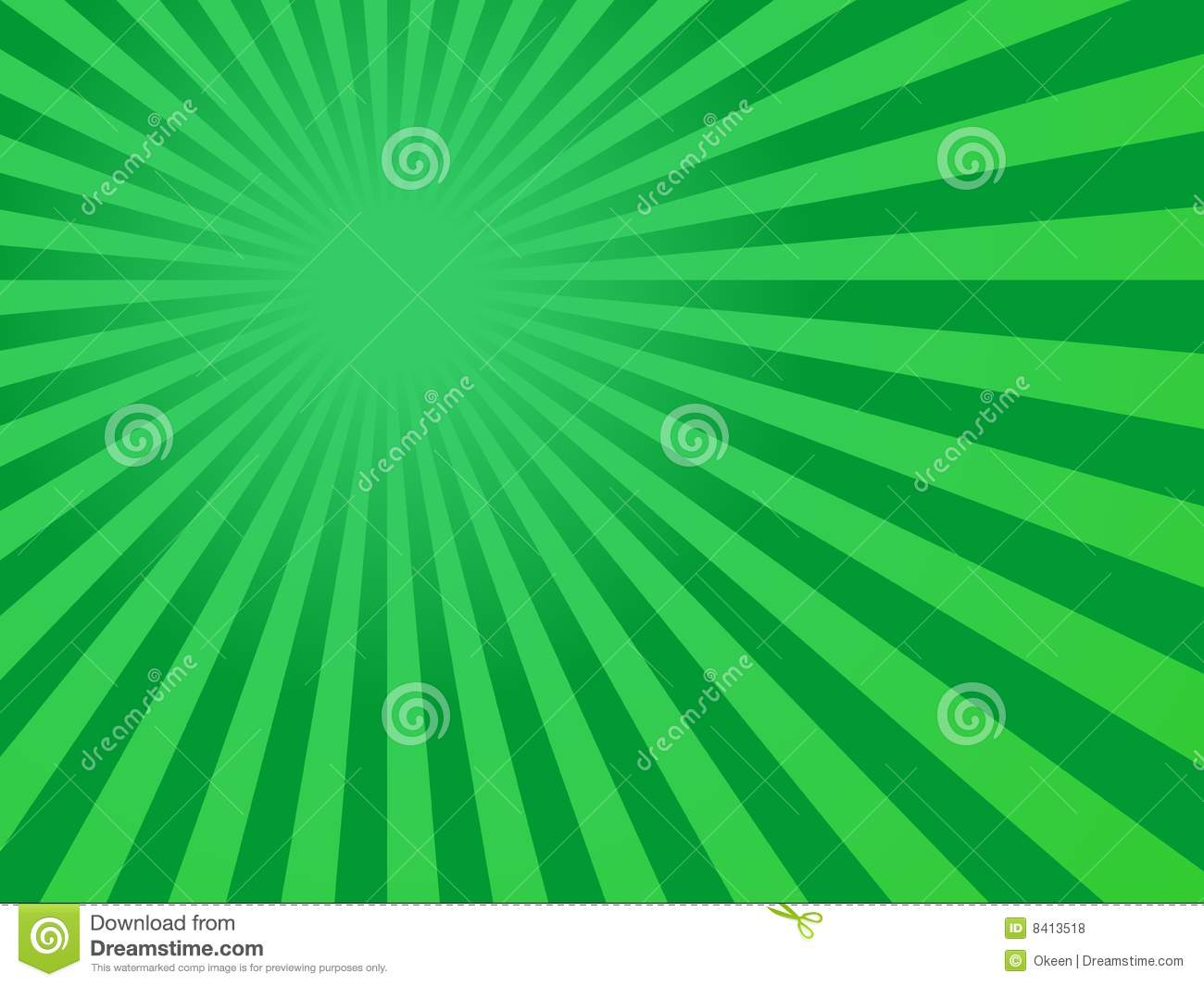 green rays background - photo #12